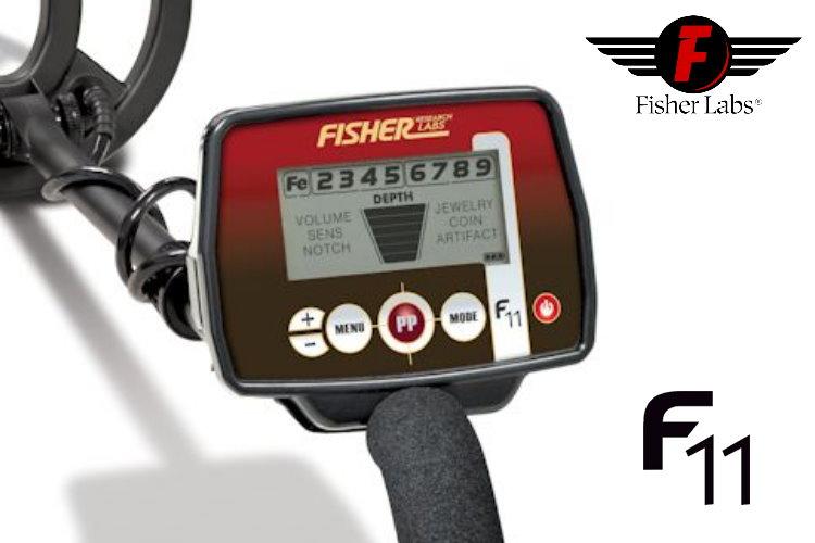 Metalldetektor Fisher F11