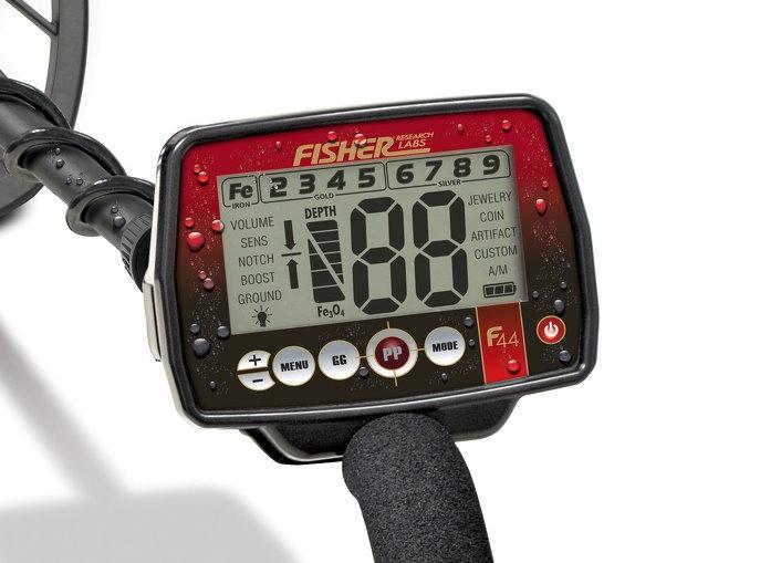 Metalldetektor Fisher F44 wireless