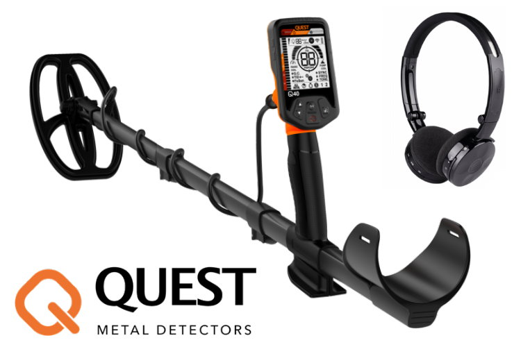 Deteknix QUEST Q40 Metalldetektor